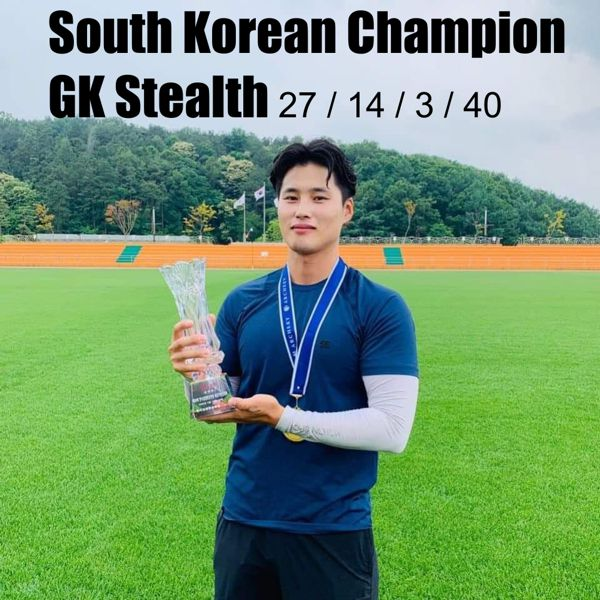 South Korean Champion with GK Stealth