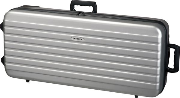 Infitec ABS Bow Case - Silver