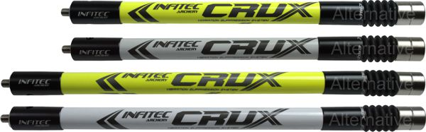 Infitec Crux Short Rod - White and Flu Yellow