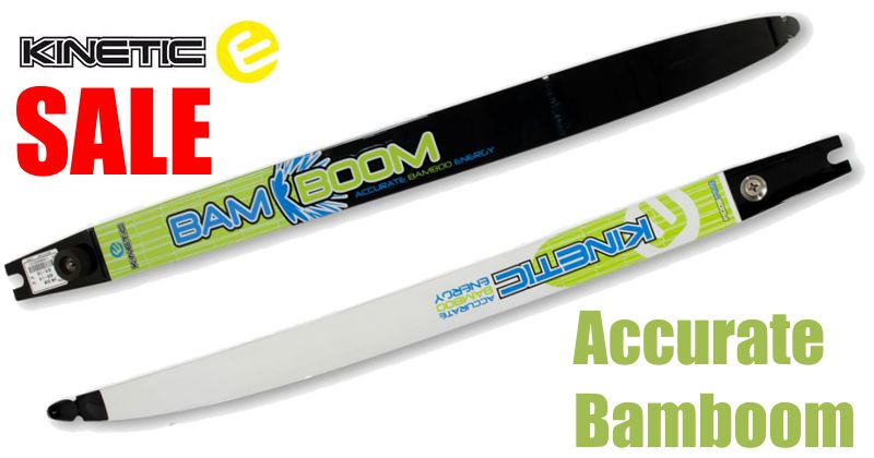 Kinetic Accurate Bamboom limbs - SALE