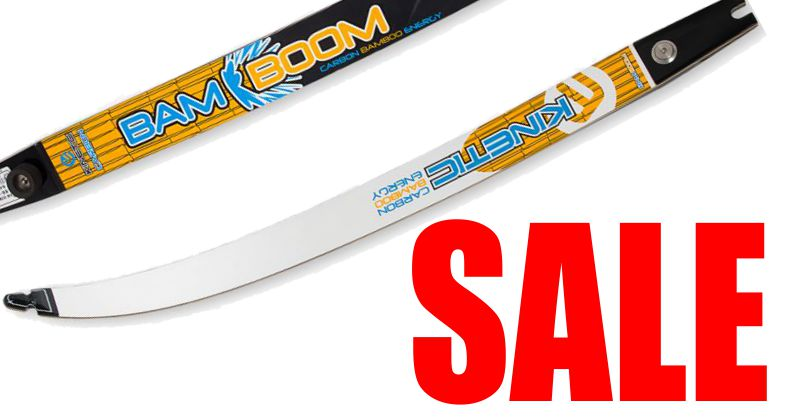 Kinetic Carbon Bamboom limbs - SALE