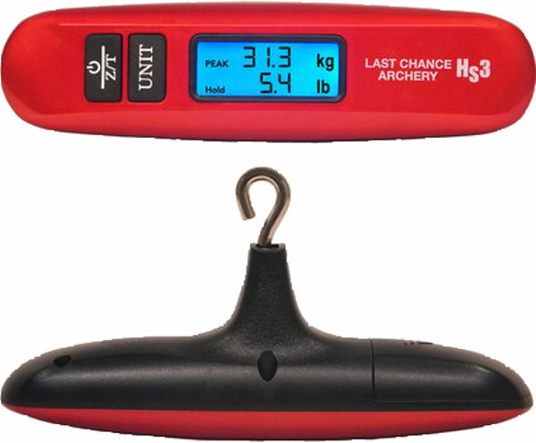 Last Chance HS3 Handheld Digital Bow Scale