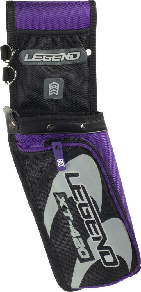 Legend XT-420 Field Quiver - Purple