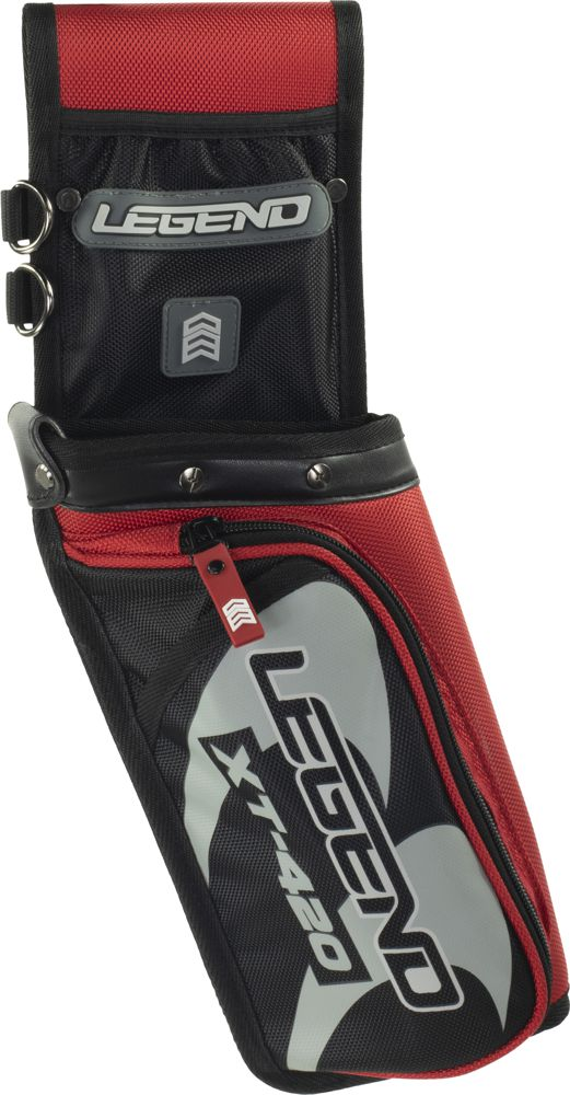 Legend XT-420 Field Quiver - Red