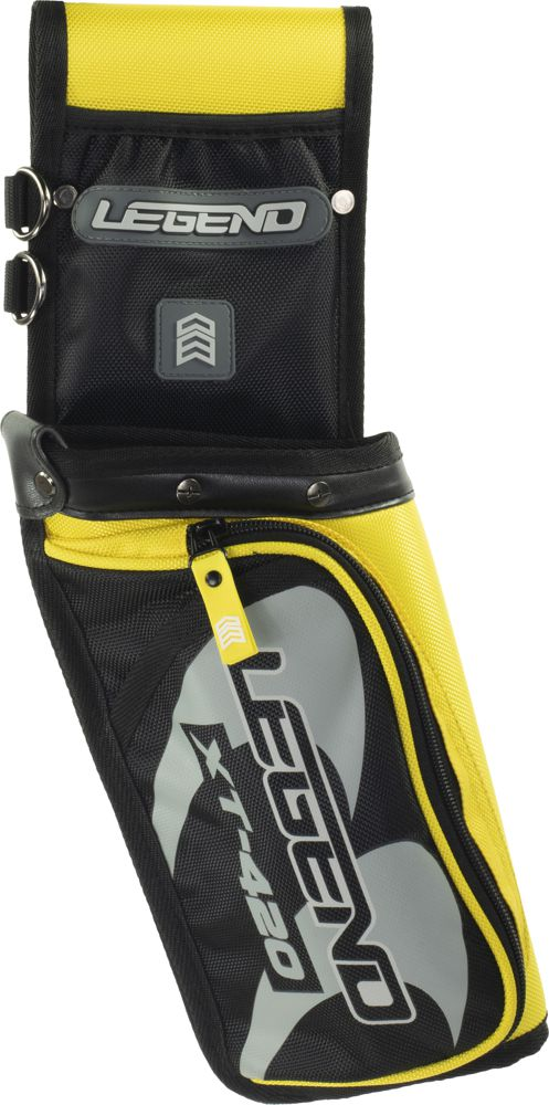 Legend XT-420 Field Quiver - Yellow