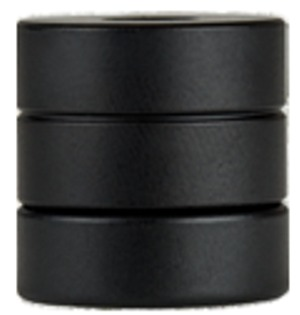 Doinker 2-Piece Stack Weight Set (5/16in) - Black Steel
