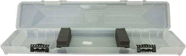 Plano Compact Arrow Case - Clear with Black Locks