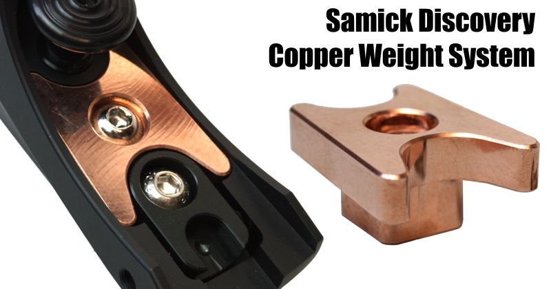 Samick SPARE PARTS for Discovery riser - Copper Weight System