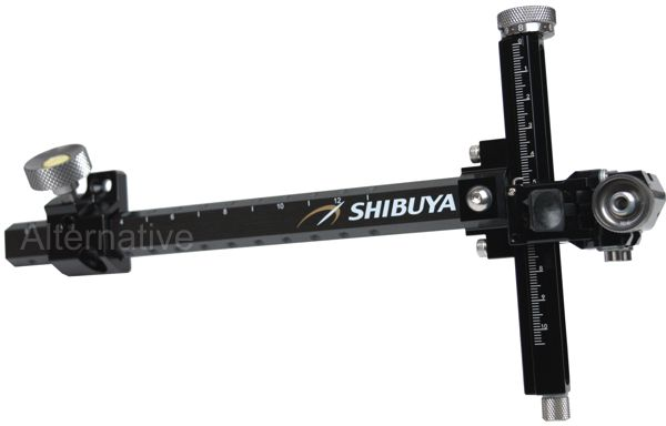 Shibuya Ultima CPX Compound Sight - Black