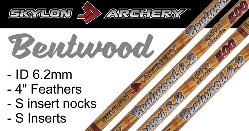 Skylon Bentwood - READY BUILT ARROWS (pk/12)