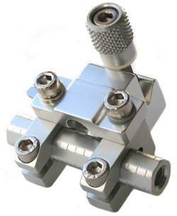 Sure-LocArmored 3rd Axis Leveling Block - Silver