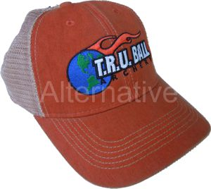 TRU Ball Mesh Cap - Orange