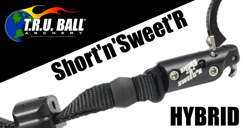 TRU Ball Short-N-Sweet R Hybrid - with Velcro Strap