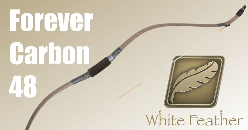 White Feather Forever Carbon 48in