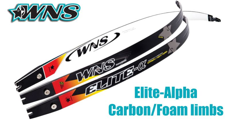 WNS Elite-Alpha Carbon/Foam limbs - SALE