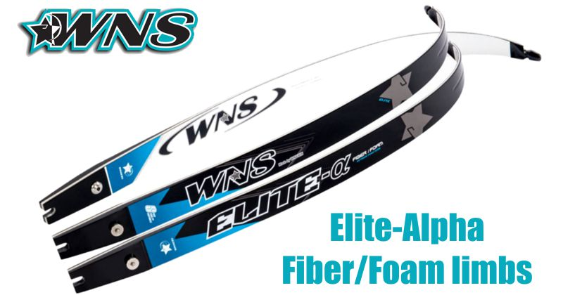 WNS Elite-Alpha Fiber/Foam limbs - SALE