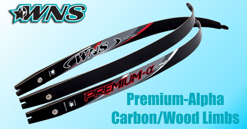 WNS Premium-Alpha Carbon/Wood limbs - SALE