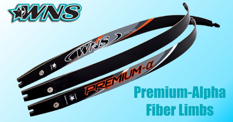 WNS Premium-Alpha Fiber limbs - SALE